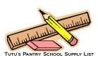 tutus sch supplies